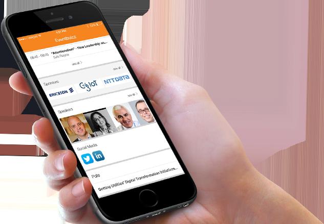 Mobil app för event och konferens
